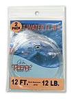 Saltwater Knotless Tapered Leaders - 2 Pack