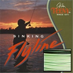 T-Series T-130 Fly Line, 4-6 Rod Size, Approx. 4 IPS, Green